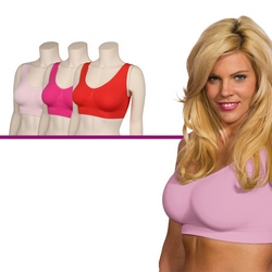 Mediashopping - 3 Reggiseni Slim n' Lift Aire Bra COLOR XXXL (tg 6)